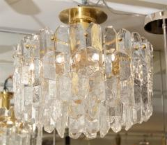 J T Kalmar Exceptional Kalmar Ice Crystal Flush Mount Chandelier - 139511