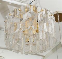 J T Kalmar Exceptional Kalmar Ice Crystal Flush Mount Chandelier - 139521