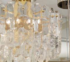 J T Kalmar Exceptional Kalmar Ice Crystal Flush Mount Chandelier - 139522