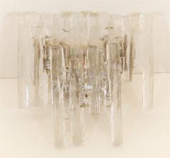 J T Kalmar Grand Scale Kalmar Ice Glass Vanity Sconce - 158728
