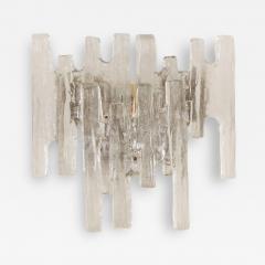 J T Kalmar Grand Scale Kalmar Ice Glass Vanity Sconce - 166408