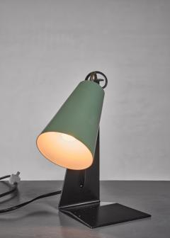 J T Kalmar Kalmar black and green metal table lamp - 1735208