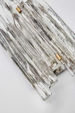 J T Kalmar Set of J T Kalmar Glass Wall Sconces with Brass Details - 1174054