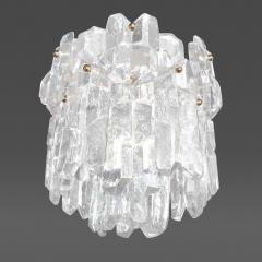 J T Kalmar Textured Glass Chandelier - 51197
