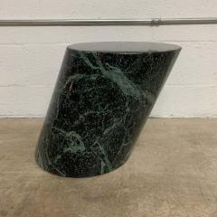 J Wade Beam J Wade Beam Green Marble Zephyr Side or End Occasional Drinks Table for Brueton - 1591148