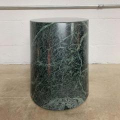 J Wade Beam J Wade Beam Green Marble Zephyr Side or End Occasional Drinks Table for Brueton - 1591149