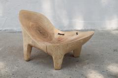 J rg Pietschmann Unique Ash Sculpted Chair by J rg Pietschmann - 766799