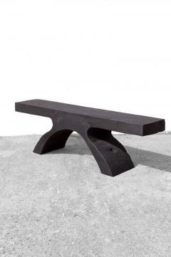 J rg Pietschmann Unique Poplar Bench Sculpted by J rg Pietschmann - 1617286