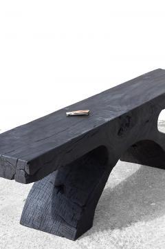 J rg Pietschmann Unique Poplar Bench Sculpted by J rg Pietschmann - 1617287