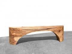 J rg Pietschmann Unique Poplar Bench Sculpted by J rg Pietschmann - 1617317
