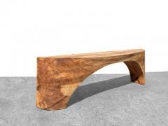 J rg Pietschmann Unique Poplar Bench Sculpted by J rg Pietschmann - 1617318
