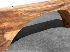 J rg Pietschmann Unique Poplar Bench Sculpted by J rg Pietschmann - 1617322