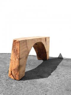 J rg Pietschmann Unique Poplar Bench Sculpted by J rg Pietschmann - 1617323
