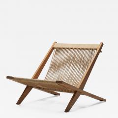 J rgen H j Easy Chair by J rgen H j and Poul Kj rholm Denmark 1952 - 1324253