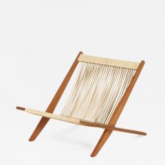 J rgen H j Easy chair by J rgen H j and Poul Kj rholm Denmark 1952 - 876085