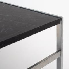 J rgen Kastholm Preben Fabricius Coffee table with black marble - 951811