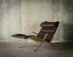 J rgen Kastholm Preben Fabricius Grasshopper Lounge Chair by Preben Fabricius and Jorgen Kastholm - 481456