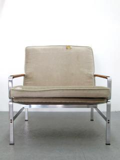 J rgen Kastholm Preben Fabricius Lounge Chair Modell FK 6720 by Preben Fabricius J rgen Kastholm - 682349