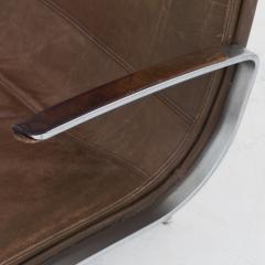 J rgen Kastholm Preben Fabricius Office Chair in Brown Leather - 665709