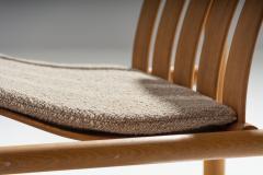 J rgen Nilsson Pair of Handmade Oak Lounge Chairs by J rgen Nilsson Denmark 1964 - 1079415