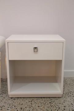 Jack Cartwright Pair of White Nightstands - 939048