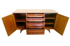 Jack van der Molen A Pair of American Modern Cerused Oak Four Drawer Two Door Credenza Buffet - 821983