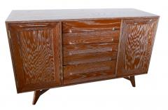 Jack van der Molen A Pair of American Modern Cerused Oak Four Drawer Two Door Credenza Buffet - 862261