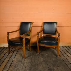 Jacob Freres A pair of nineteenth century French Jacob Fr res Consulat armchairs - 2128918