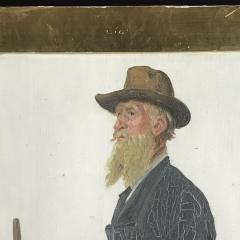 Jacob Kornerup 1825 1913 Portrait of Carl Petersen 1906 - 1702772
