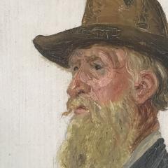 Jacob Kornerup 1825 1913 Portrait of Carl Petersen 1906 - 1702773