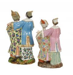 Jacob Petit A Fine Pair of Nodder Porcelain Figures - 1826433