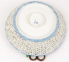 Jacob Petit Old Paris Porcelain Basket by Jacob Petit c 1840 - 981047