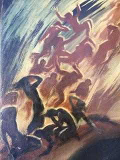 Jacob Steinhardt Biblical Scene - 1702211
