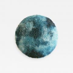 Jacopo Foggini Jacopo Foggini Circular Blue Polycarbonate Wall Lamp Italy - 834578