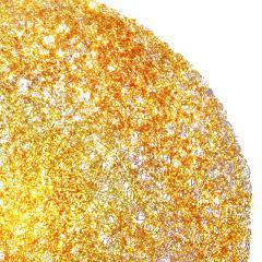 Jacopo Foggini Jacopo Foggini Gold Polycarbonate Contemporary Circular Wall Lamp Italy - 835687