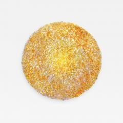 Jacopo Foggini Jacopo Foggini Gold Polycarbonate Contemporary Circular Wall Lamp Italy - 836251