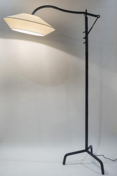 Jacques Adnet 1950s Stitched Leather floor lamp By Jacques Adnet - 1678957