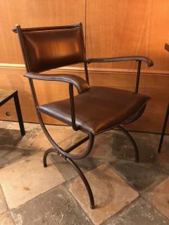 Jacques Adnet Desk Armchair France 1950s - 2113352
