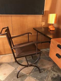 Jacques Adnet Desk Armchair France 1950s - 2113354