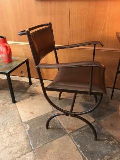 Jacques Adnet Desk Armchair France 1950s - 2113355