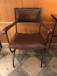Jacques Adnet Desk Armchair France 1950s - 2113356