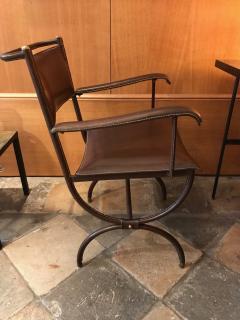 Jacques Adnet Desk Armchair France 1950s - 2113357