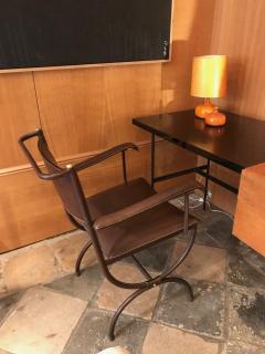 Jacques Adnet Desk Armchair France 1950s - 2113358