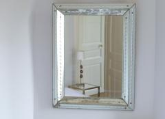 Jacques Adnet French art deco mirror attributed to Jacques Adet 1940s - 985904