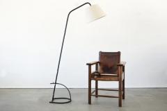 Jacques Adnet JACQUES ADNET ADJUSTABLE FLOOR LAMP - 1860867