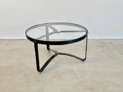 Jacques Adnet JACQUES ADNET ROUND COFFEE TABLE - 1964770