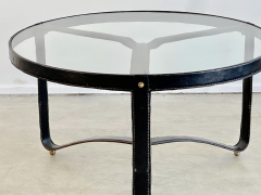 Jacques Adnet JACQUES ADNET ROUND COFFEE TABLE - 1964775