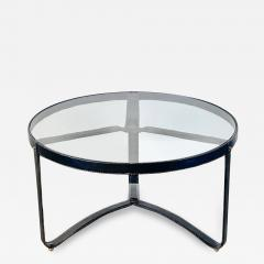 Jacques Adnet JACQUES ADNET ROUND COFFEE TABLE - 1966489