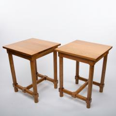 Jacques Adnet Jacques Adnet France a Pair of High End Tables - 1122428