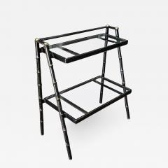 Jacques Adnet Jacques Adnet French Modernist Leather Wrapped Shelves - 1776457